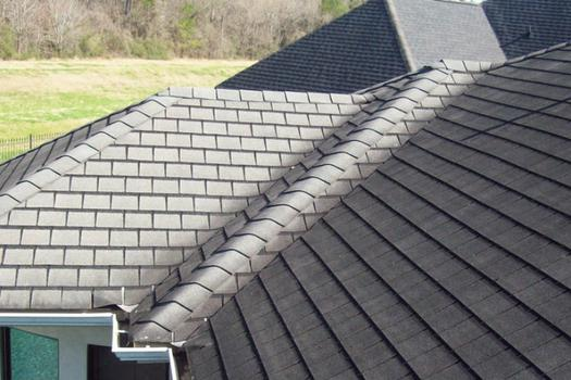 Owens Corning vs CertainTeed asphalt hip and ridge shingles
