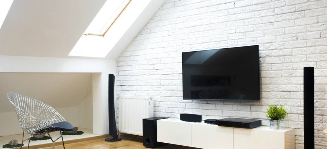 -attic home theatre