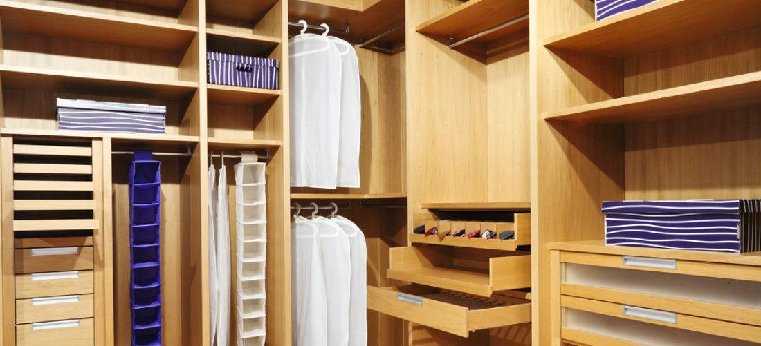 prefabricated closets